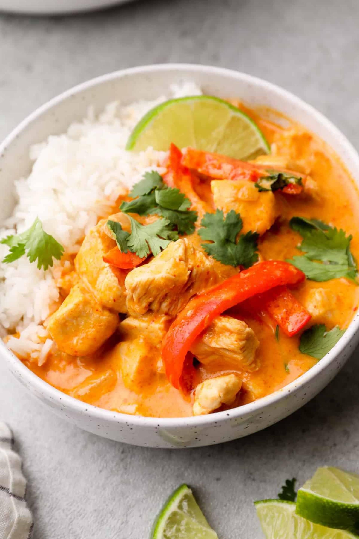 Chicken Red Curry Stir Fry
