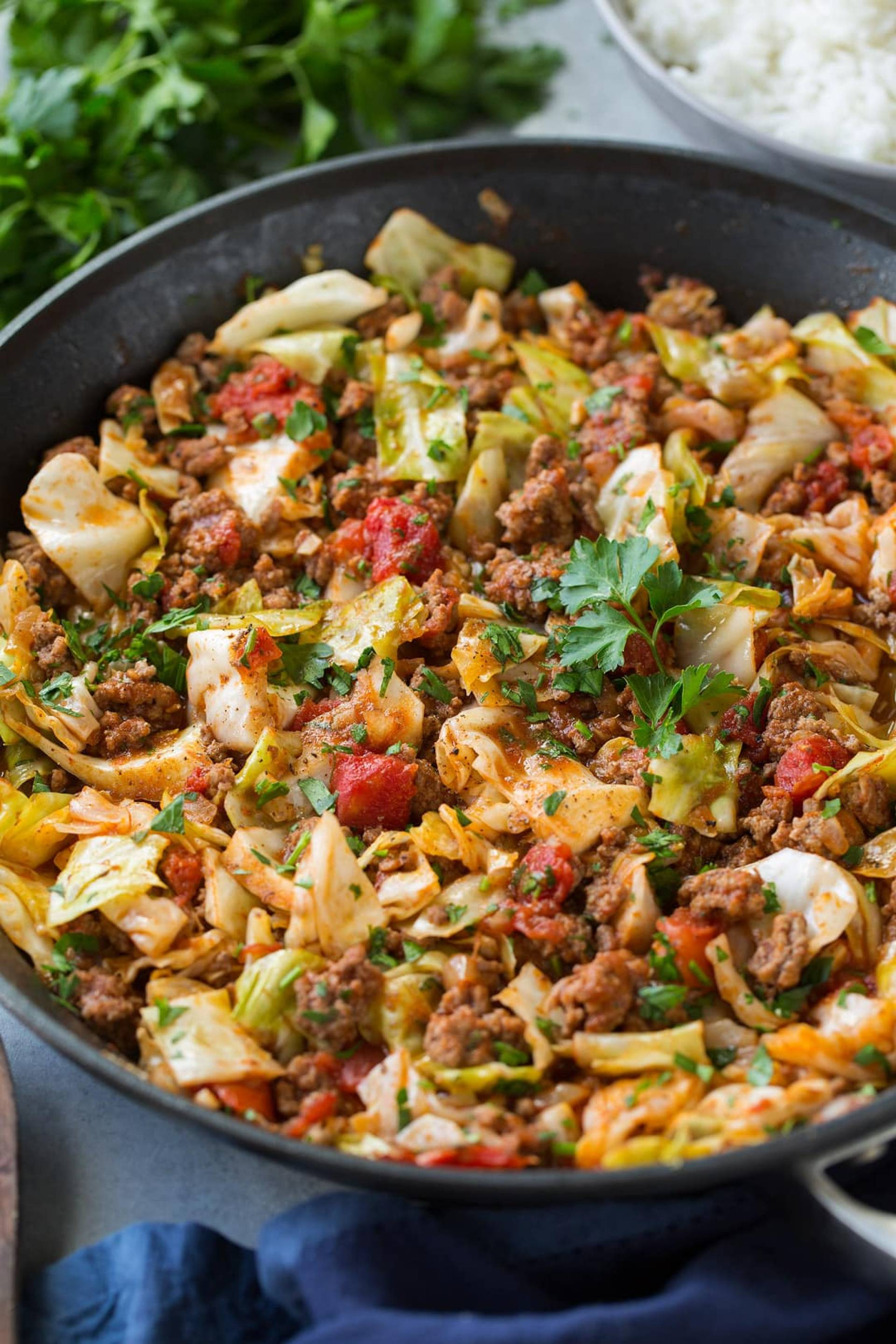 Deconstructed Cabbage Roll